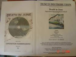 Death in June - Operation Hummingbird