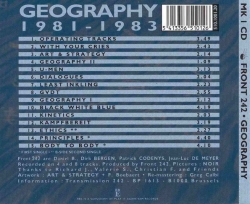 Front 242 - Geography 1981-1983