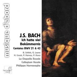 Johann Sebastian Bach - Ich Hatte Viel Bekümmernis BWV 21 / Am Abend Aber Desslbigen Sabbats BWV 42