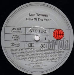 Lee Towers - Gala Of The Year