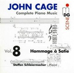 John Cage - Complete Piano Music Vol. 8 - Hommage À Satie