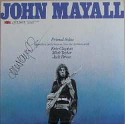 JOHN MAYALL - Primal Solos