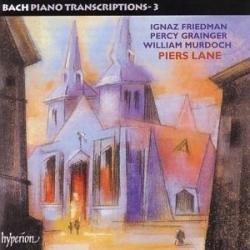 Johann Sebastian Bach - Bach • Piano Transcriptions -3