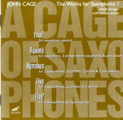 John Cage - The Works For Saxophone 1