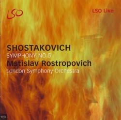 Mstislav Rostropovich - Symphony No 5