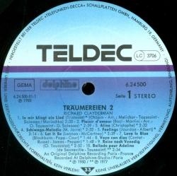 Richard Clayderman - Träumereien 2 - Die Schönsten Klaviermelodien