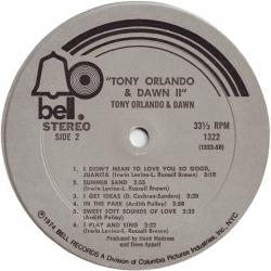 Tony Orlando - Tony Orlando & Dawn II