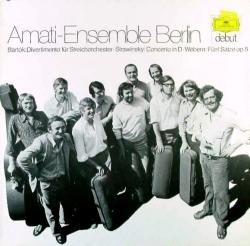 Anton Webern - Divertimento Für Streichorchester / Concerto In D / Fünf Sätze Op. 5