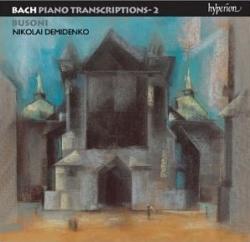Ferruccio Busoni - Bach • Piano Transcriptions - 2