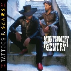 Montgomery Gentry - Tattoos & Scars