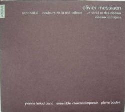 Pierre Boulez - Sept Haïkaï, Couleurs De La Cité Céleste, Un Vitrail Et Des Oiseaux, Oiseaux Exotiques