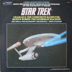 Fred Steiner - Star Trek (Music Adapted From Selected Episodes Of The Paramount TV Series)