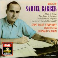 Leonard Slatkin - Music Of Samuel Barber