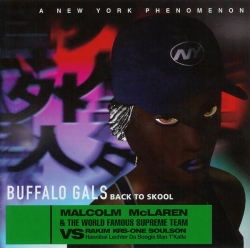 MALCOLM MCLAREN - Buffalo Gals Back To Skool