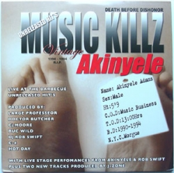 Akinyele - Live At The Barbecue - Unreleased Hit's