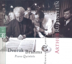 Arthur Rubinstein - Rubinstein Collection, Vol. 67: Brahms: Piano Quintet, Op. 34; Dvorák: Piano Quintet, Op. 81