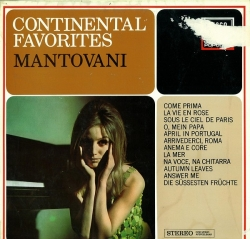Mantovani - Continental Favorites