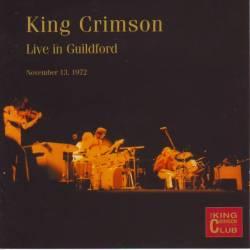 King Crimson - Live In Guildford, November 13, 1972