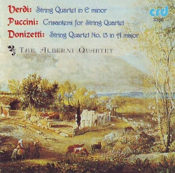 Giuseppe Verdi - String Quartet In E Minor / Crisantemi For String Quartet / String Quartet No. 13 In A Minor