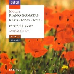 Wolfgang Amadeus Mozart - Piano Sonatas (KV333 - KV545 - KV457, Fantasia KV475)
