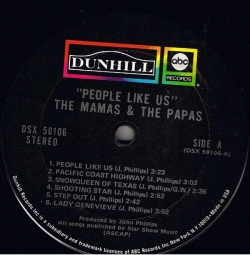 The Mamas & The Papas - People Like Us