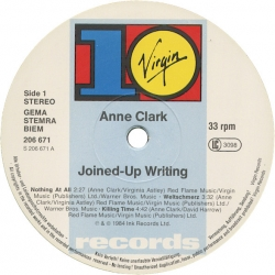 Anne Clark - Joined-Up Writing