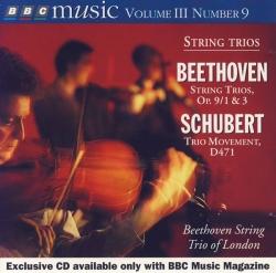 Franz Schubert - String Trios
