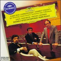 Pierre Boulez - Alban Berg: Kammerkonzert / Igor Stravinsky: Ebony Concerto - Dumbarton Oaks - 8 Miniatures