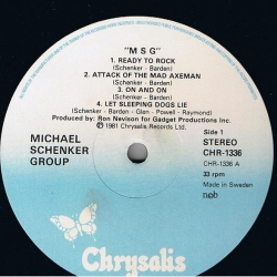 The Michael Schenker Group - M S G