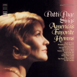 PATTI PAGE - Sings America's Favorite Hymns