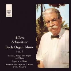 Albert Schweitzer - Bach Organ Music Vol. 1