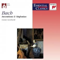 Gustav Leonhardt - Bach : Inventions & Sinfonias