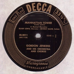 Gordon Jenkins - Manhattan Tower / California