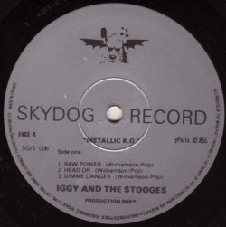 Iggy And The Stooges - Metallic KO