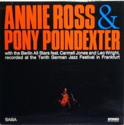 Annie Ross - Recorded At The Tenth German Jazz Festival In Frankfurt