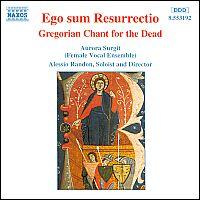 Alessio Randon - Ego Sum Resurrectio - Gregorian Chant For The Dead