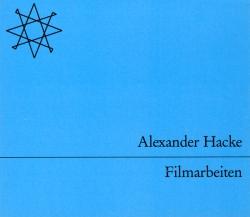 Alexander Hacke - Filmarbeiten
