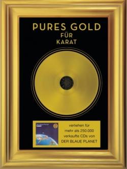 Karat - Pures Gold: Der Blaue Planet