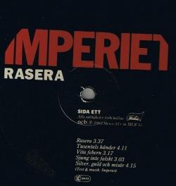 Imperiet - Rasera