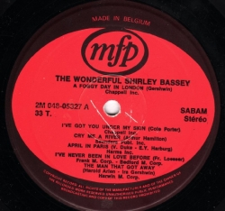 Shirley Bassey - The Wonderful Shirley Bassey