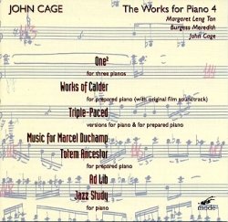 John Cage - The Works For Piano 4