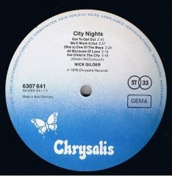 Nick Gilder - City Nights