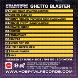 Cyantific - Ghetto Blaster