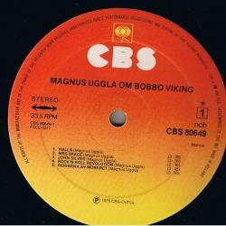 Magnus Uggla - Om Bobbo Viking