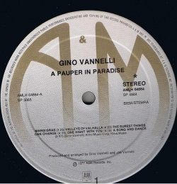 Gino Vannelli - A Pauper In Paradise