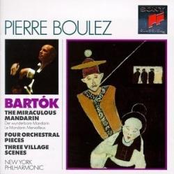 Pierre Boulez - The Miraculous Mandarin / Four Orchestral Pieces / Three Village Scenes