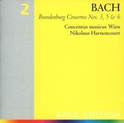 Johann Sebastian Bach - Brandenburg Concertos Nos. 3, 5, & 6
