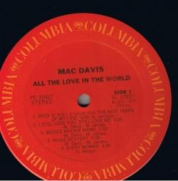 Mac Davis - All The Love In The World
