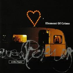 element of crime - Weißes Papier