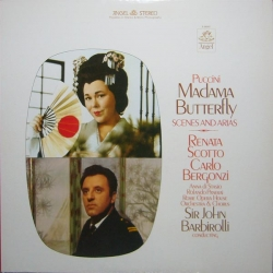 Giacomo Puccini - Madama Butterfly: Scenes And Arias